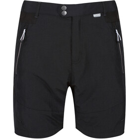 Regatta Sungari II Spodnie krótkie Mężczyźni, czarny